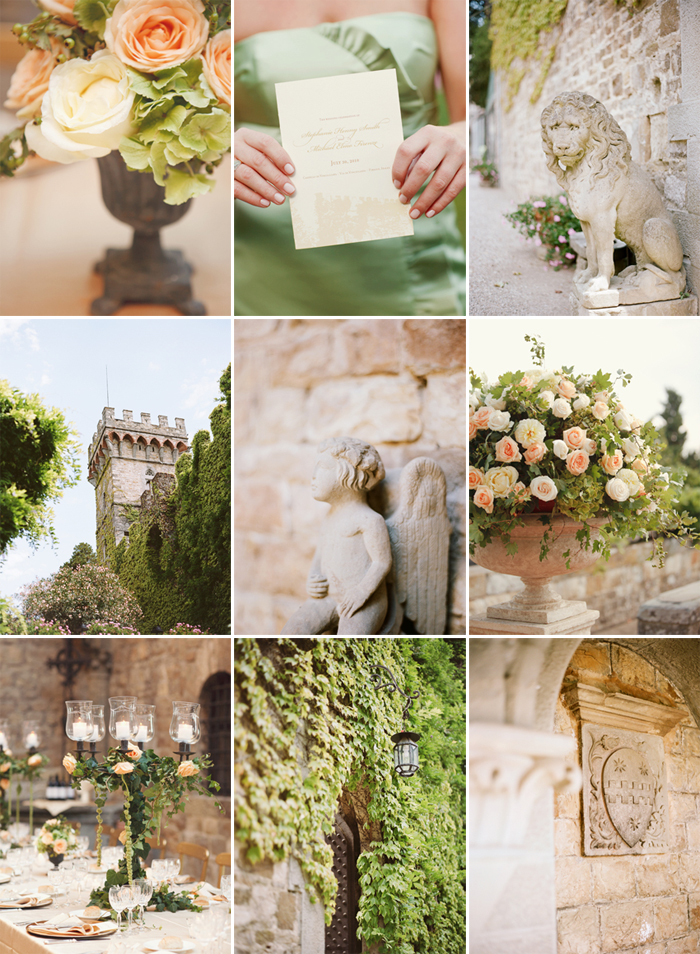 details from a italian wedding in florence italy