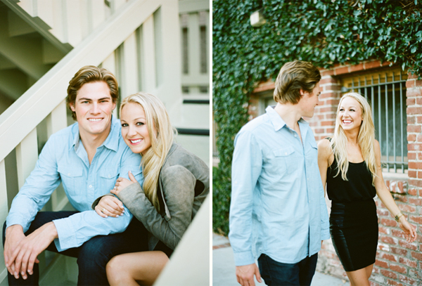 downtown laguna beach engagement photos