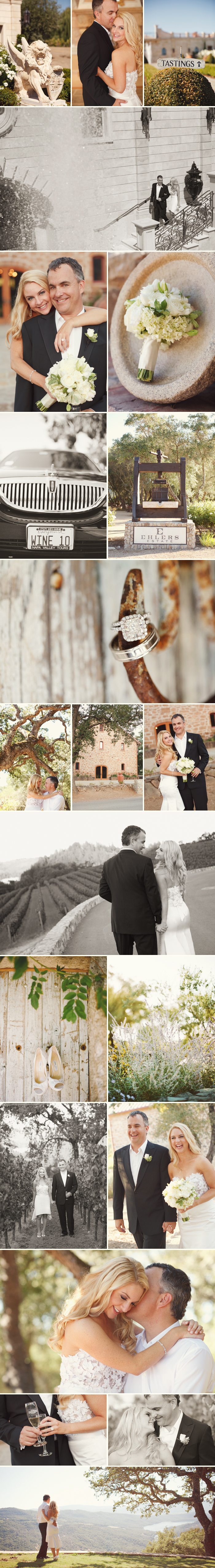 intimate and beautiful napa wedding photography in vineyards and wineries